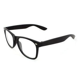 Black Fashion Nerdy Glasses